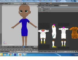 #19 for 3D Character design for Mobile Soccer Game App by onneti2013
