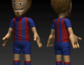 azraneko tarafından 3D Character design for Mobile Soccer Game App için no 8