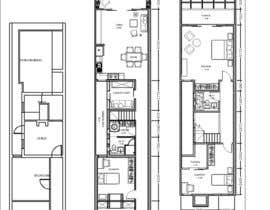 #11 for Victorian Terrace Floor Plans by theresiaaviladt