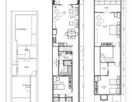 #18 for Victorian Terrace Floor Plans by theresiaaviladt