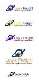 nº 9 pour Design a Logo for Logix Freight par crazenators