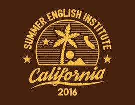 #46 para California English Camp back of t-shirt design por vickysmart