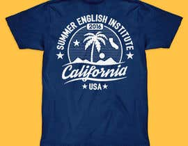 #51 para California English Camp back of t-shirt design por vickysmart