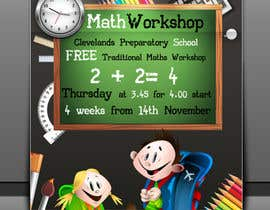 nº 19 pour Design a Flyer for a School Maths Workshop par Artimization