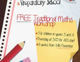 #13 para Design a Flyer for a School Maths Workshop por FlaviussAdam