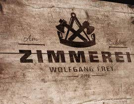 #10 para Logo Design for - ZIMMEREI AM SCHLOSS de medienwald