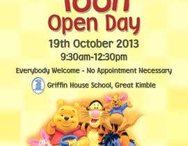 GreenGooDesign tarafından Design a Flyer for a School Open Day için no 5