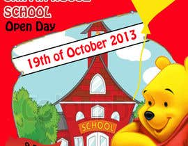 #14 for Design a Flyer for a School Open Day by flippedupdesign