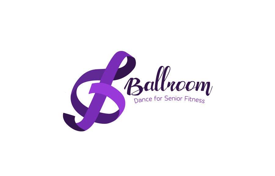 Participación en el concurso Nro.                                        4                                      para                                         Ballroom Dance for Senior Fitness Logo