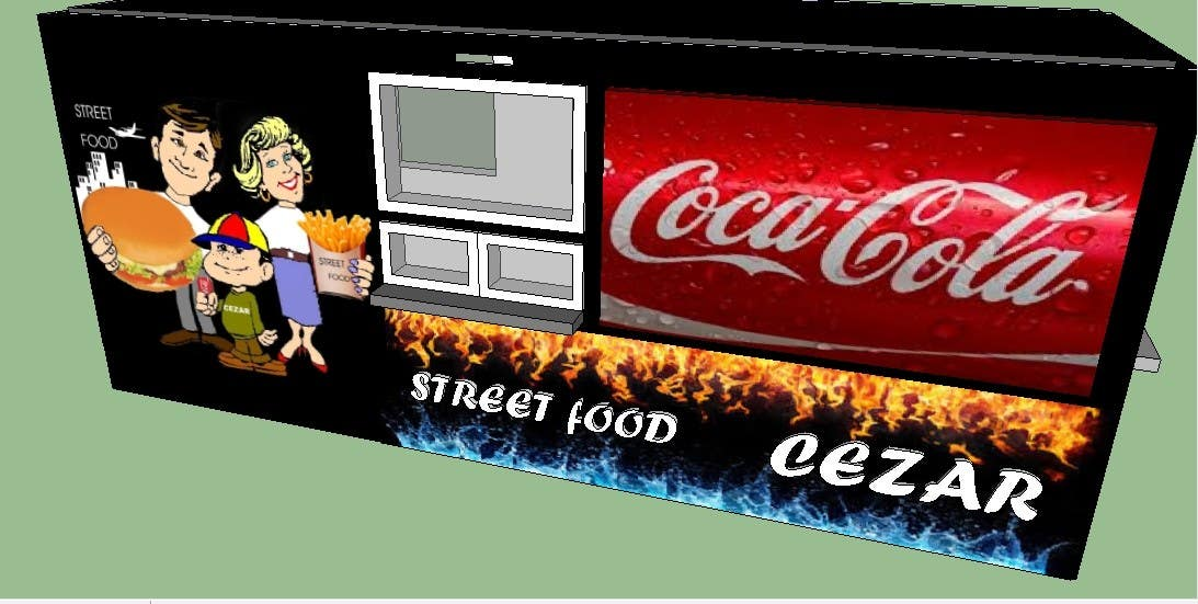 Contest Entry #                                        32                                      for                                         I need some Graphic Design idea for fast food kiosk