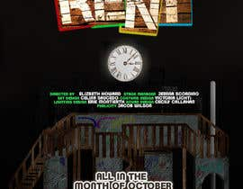 #5 for Design 2 Posters for musical RENT by DigzGfx