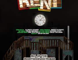 #5 สำหรับ Design 2 Posters for musical RENT โดย DigzGfx