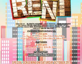 #6 for Design 2 Posters for musical RENT by DigzGfx