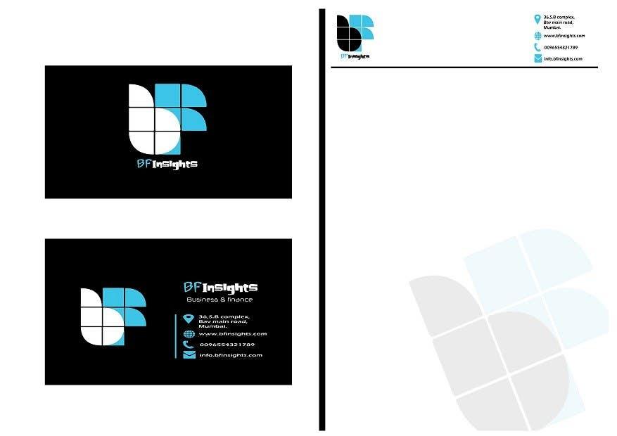 Bài tham dự cuộc thi #18 cho Develop a Corporate Identity for BFInsights.
