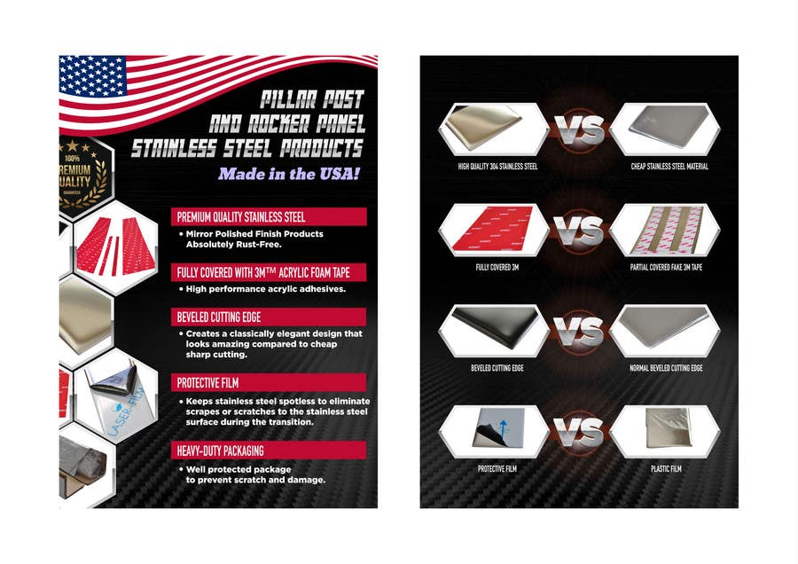 Contest Entry #12 for Design a Flyer For Stainless Steel Chrome Auto Accessories
