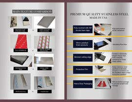 #10 for Design a Flyer For Stainless Steel Chrome Auto Accessories by ayeshaazfer