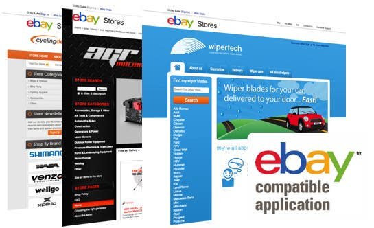 #8 for Build a ebay store and matching listing template, logo and facebook landing page by serve4you