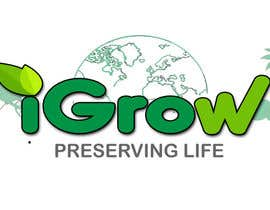 "jeff5191 tarafından Make Logo Variation for ""iGrow World"" için no 82"