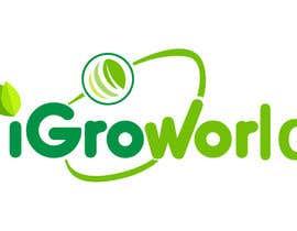"""yacineva tarafından Make Logo Variation for """"iGrow World"""" için no 34"""