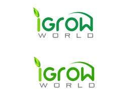 "imranwebdesigner tarafından Make Logo Variation for ""iGrow World"" için no 79"