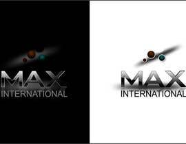 #291 cho Logo Design for The name of the company is Max bởi oxygenwebtech