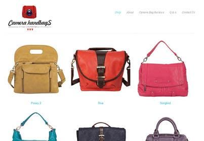 #33 for Design a Logo for Camera Handbags by holasueb