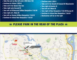 "#24 para Create Print and Packaging Designs for Driving Directions 2 Sides 5.375"" x 8.375"" finished size por burgerdesign1"