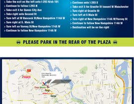 "#29 para Create Print and Packaging Designs for Driving Directions 2 Sides 5.375"" x 8.375"" finished size por burgerdesign1"
