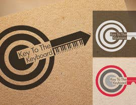 "#17 for DESIGN MY LOGO - ""KEY TO THE KEYBOARD"" - Online Piano Lessons by Slavajan"
