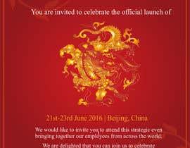 #2 para Chinese Invitation Samples por saumyasaxena