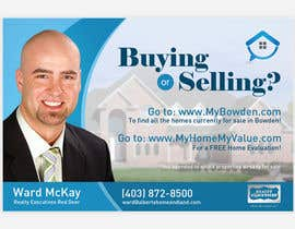 #106 para Design an Advertisement for Real Estate Postcard por pris