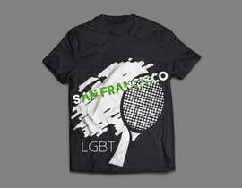 #15 สำหรับ Design a shirt for our LGBT tennis team! โดย medjaize