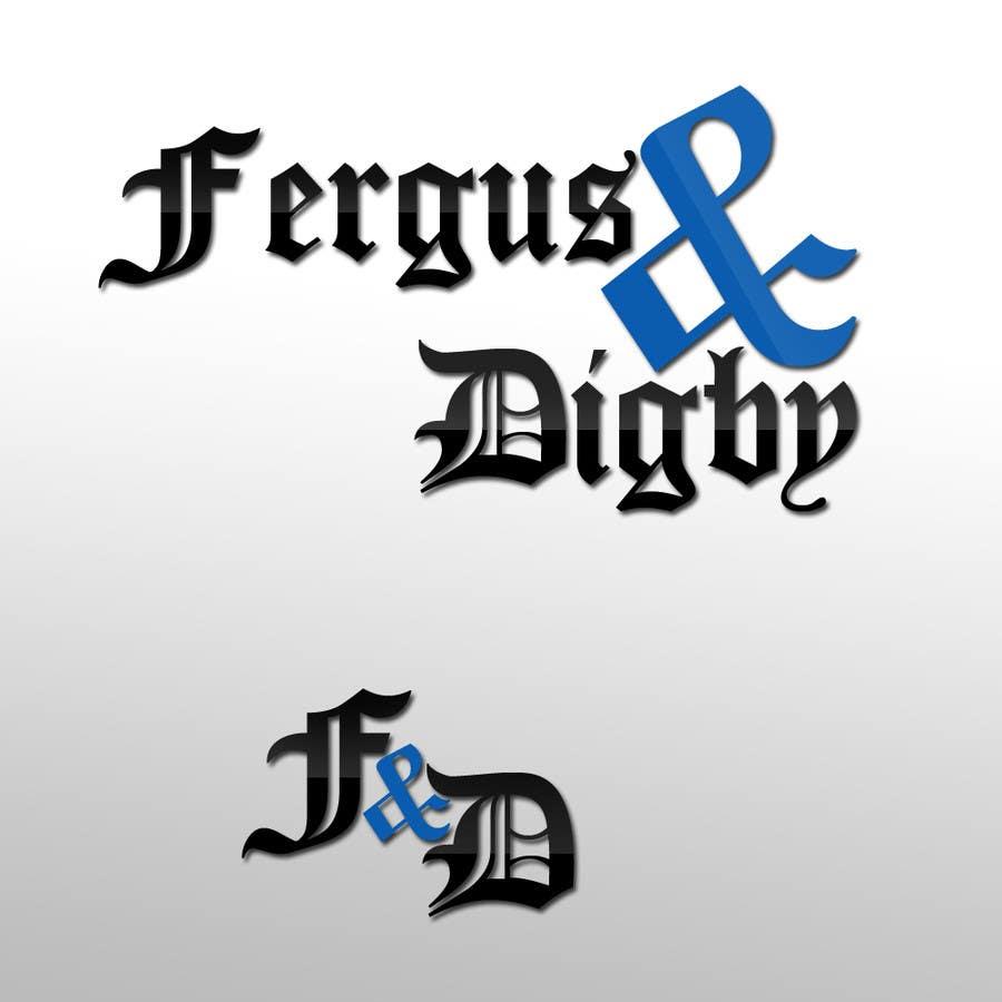Bài tham dự cuộc thi #3 cho Design a Logo for Fergus & Digby