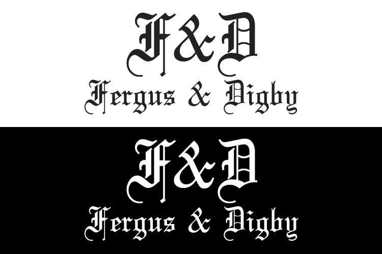 Bài tham dự cuộc thi #44 cho Design a Logo for Fergus & Digby