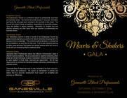 Graphic Design Inscrição do Concurso Nº2 para Gala Sponsorship