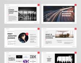 Nro 16 kilpailuun Turn boring powerpoint into amazing brochure käyttäjältä turtledes