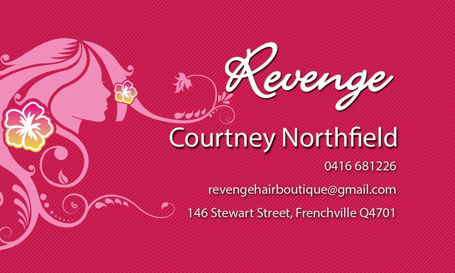 #63 for Design some Business Cards for Revenge by pcmedialab