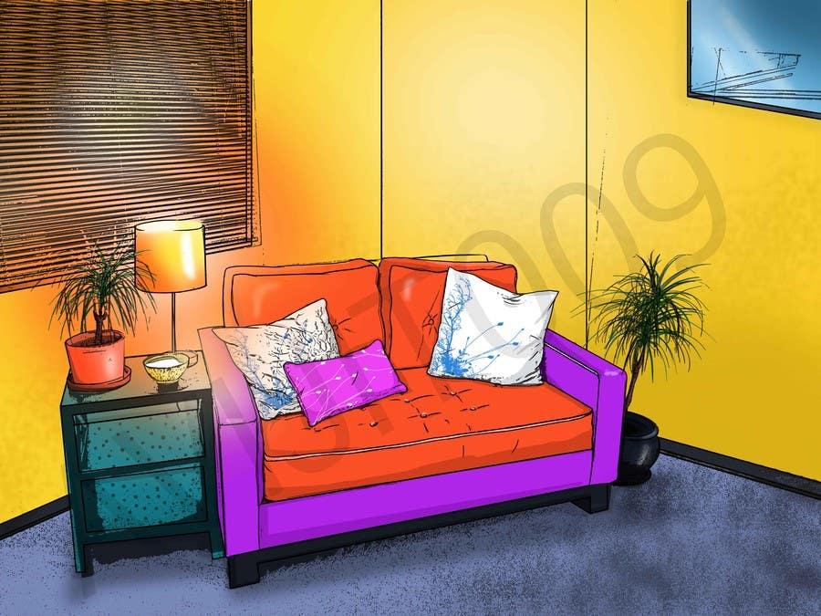 Contest Entry #                                        18                                      for                                         Comic Book Sofa!