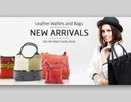 #16 for Design a Banner for Leather Wallets and Bags Website by riteshparmar79