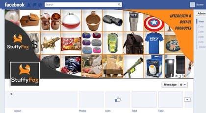RScreative1 tarafından Design a Facebook landing page için no 12