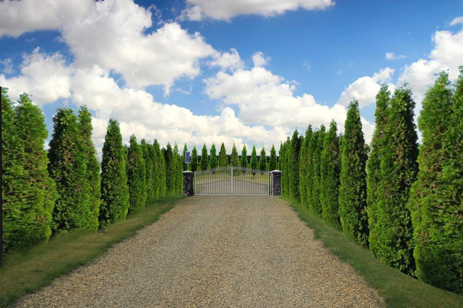 Contest Entry #                                        7                                      for                                         Driveway Gate Design Photoshop