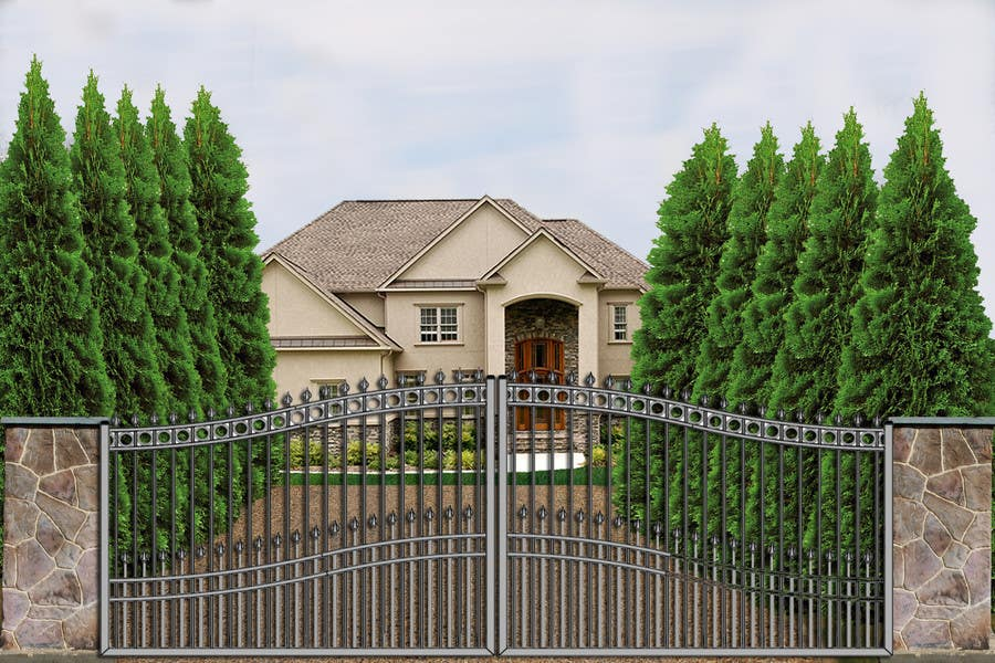 Contest Entry #                                        3                                      for                                         Driveway Gate Design Photoshop