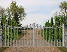 #9 for Driveway Gate Design Photoshop by kellydung1987