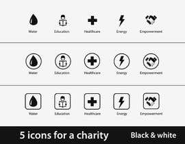 nº 11 pour Design 5 icons for a charity par pankaj86