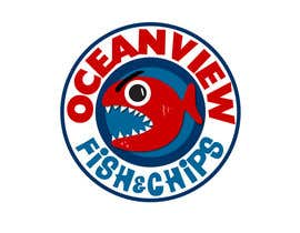 #82 for Logo Design for OceanView Fish & Chips by Mishicus