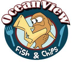 #177 untuk Logo Design for OceanView Fish & Chips oleh queeny09