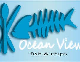 #47 for Logo Design for OceanView Fish & Chips by shakz07