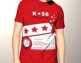nº 7 pour Design T-SHIRT for K50 (Разработка дизайна футболки for K50) par pankaj86
