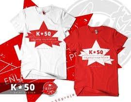 #47 for Design T-SHIRT for K50 (Разработка дизайна футболки for K50) by antzart