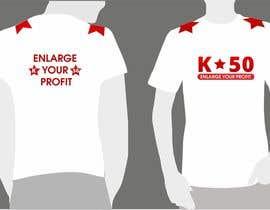 nº 41 pour Design T-SHIRT for K50 (Разработка дизайна футболки for K50) par CioLena
